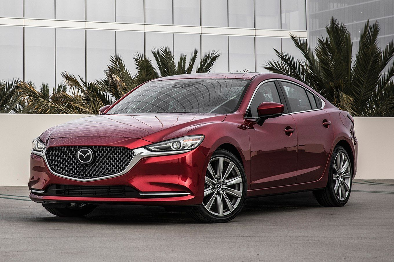 2018 Mazda6 Signature 25t Front Three Quarter 09 Jpg With Images