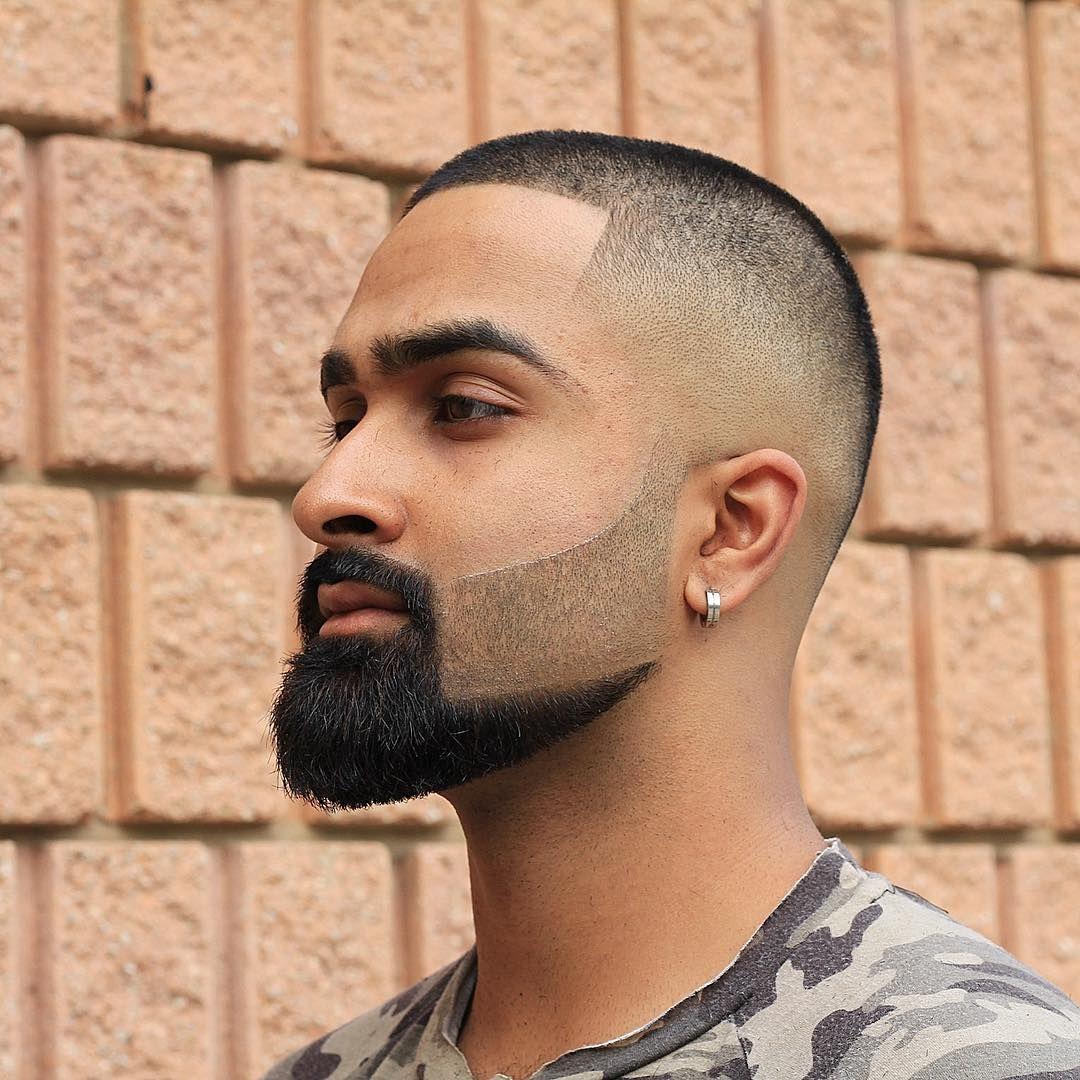 Side fade mens haircut buzz cut  skin fade  menus haircuts  hair man  pinterest