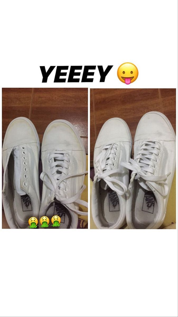 How to clean your white shoes? | White shoes Baking soda ...