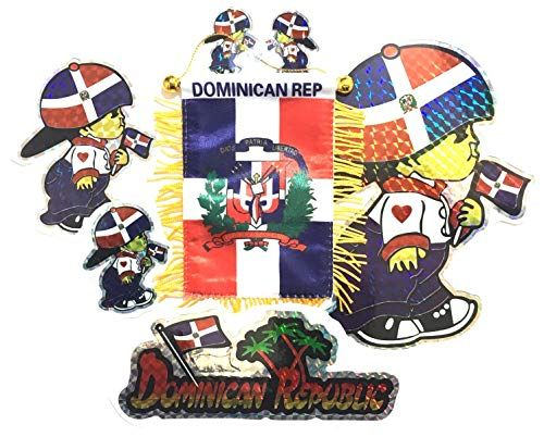 PRK 14 Dominican Republic Flags for Cars Decals Stickers … www.amazon.com/…