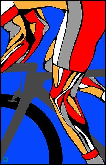 Tour De France Legs by SFDesignstudio