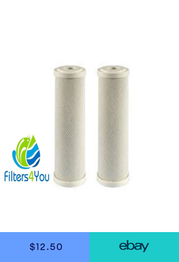 2 Pack Of 5 Micron Carbon Block Cto Coconut Shell Water Filter Cartridge 10 Reverse Osmosis Filter Water Filter Cartridge Activated Carbon