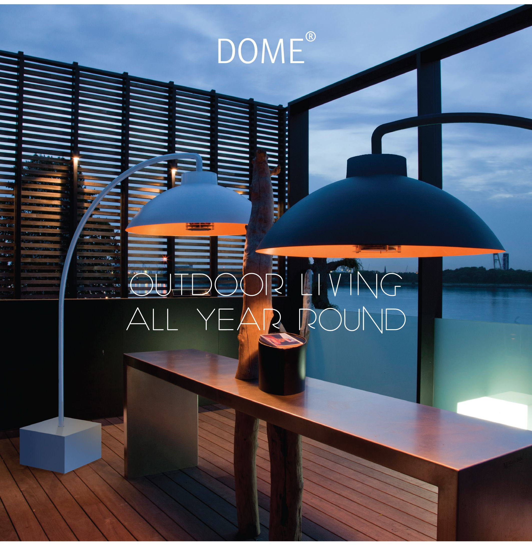 Rocknstone Dome Outdoor Heat Lamp