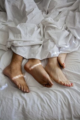 Waking up with you      Bed Feet f585ca0f8ce