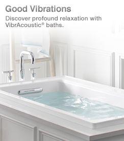 KOHLER | VibrAcoustic Baths | Bathrooms | Pinterest | Bath and ...
