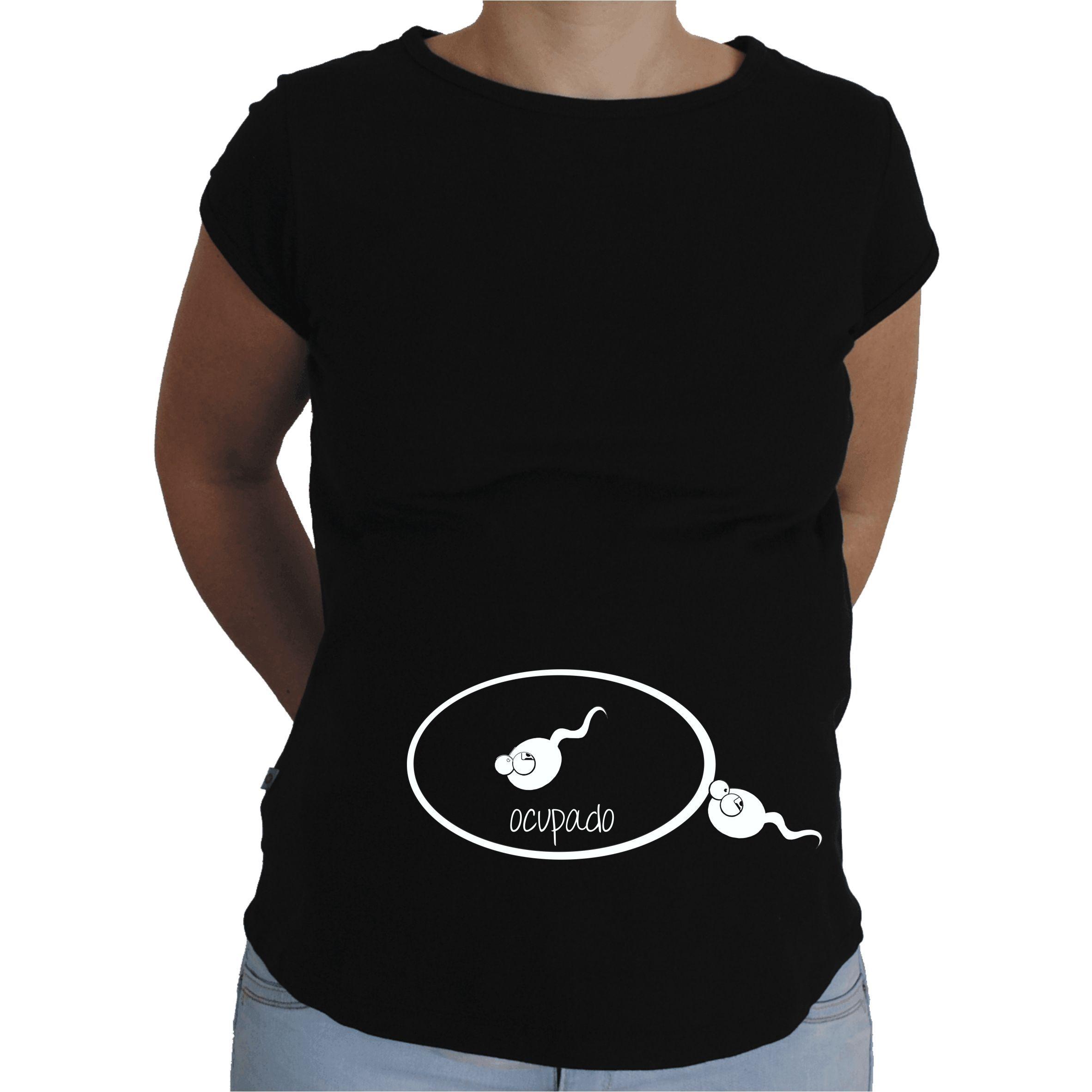 Camiseta para embarazada Divertida - Ocupado