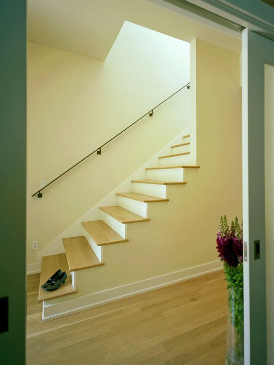 Contemporary Wooden Staircases Design, Pictures, Remodel, Decor and ...