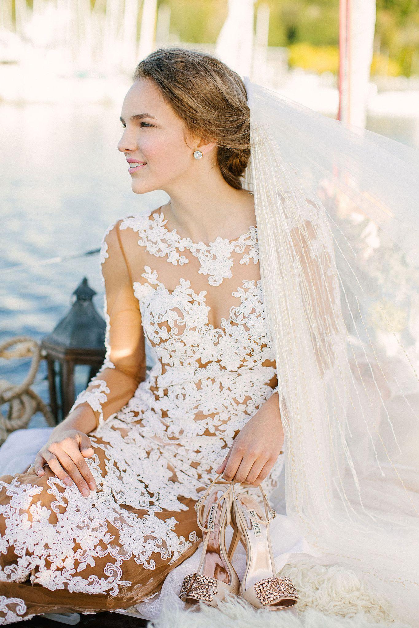 Non traditional wedding dress  Non Traditional Wedding Dress Nude Sheath Dress Lucy  Dream