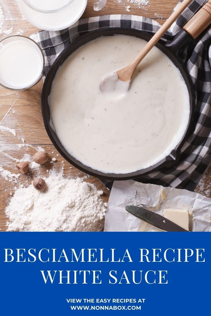 Photo of How to Make Besciamella (White Sauce)
