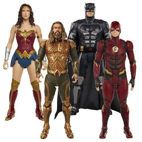 Justice League 20 Inch Big Fig Action Figure Wave 2 Case Big Fig Justice League Action Figures Justice League