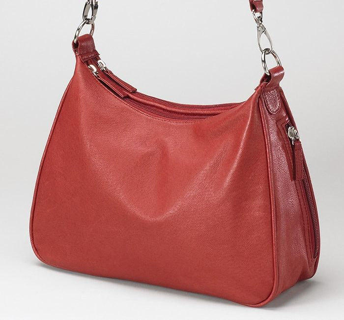 Gtm 70 Concealed Carry Basic Hobo Handbag Red Leather Hobo Handbags Concealed Carry Holsters Leather Hobo