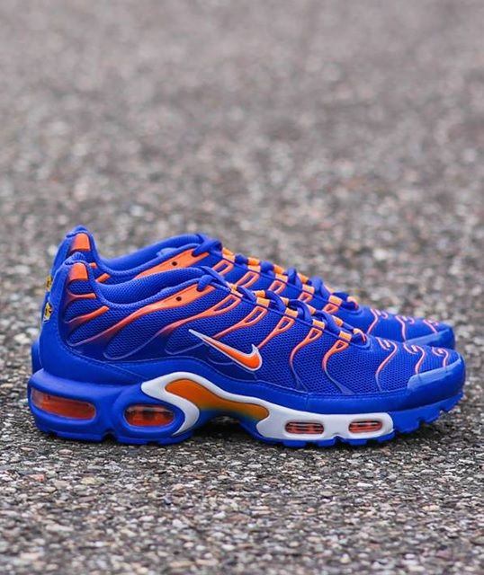 separation shoes c7dc9 fdd38 Nike Air Max Plus  Knicks  Más