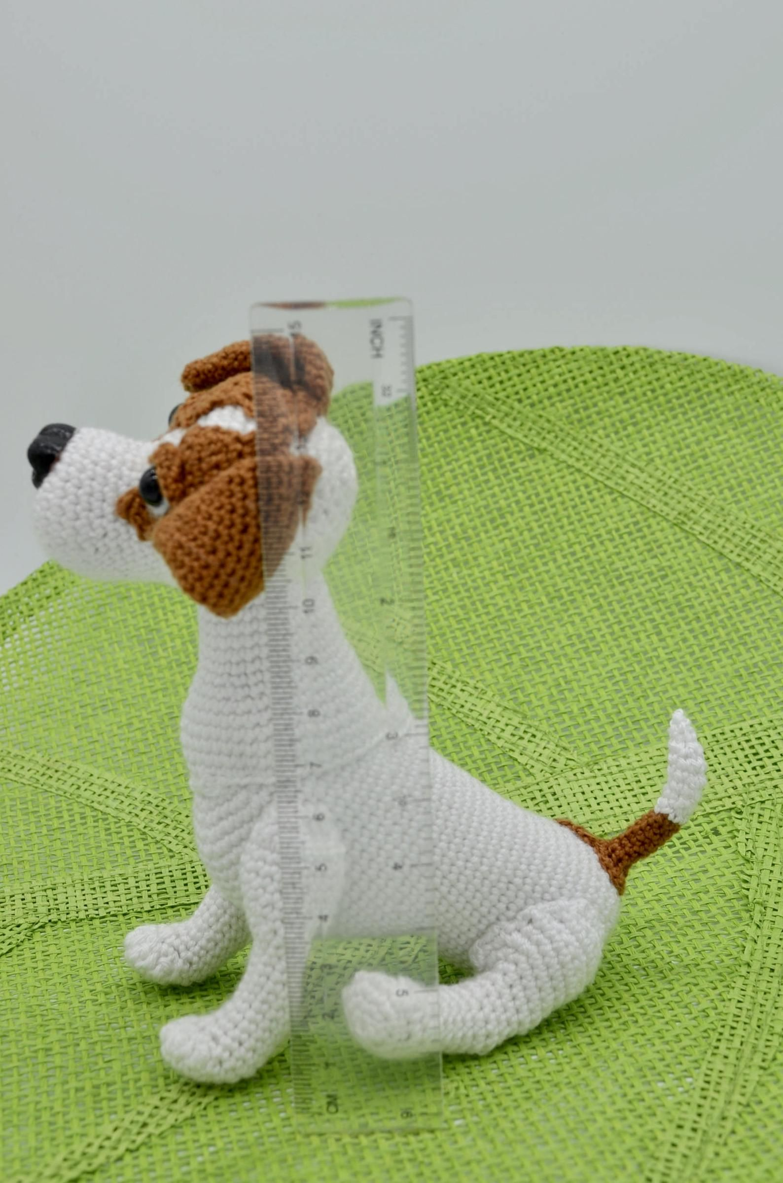 Amigurumi - Jack Russell Terrier Puppy (with pattern!) - CROCHET | 2398x1588