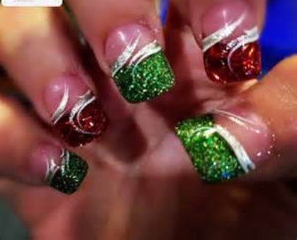 28 Festive Ways To Paint Your Nails These Holidays Nails