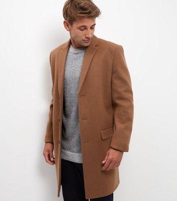 Veste manteau camel