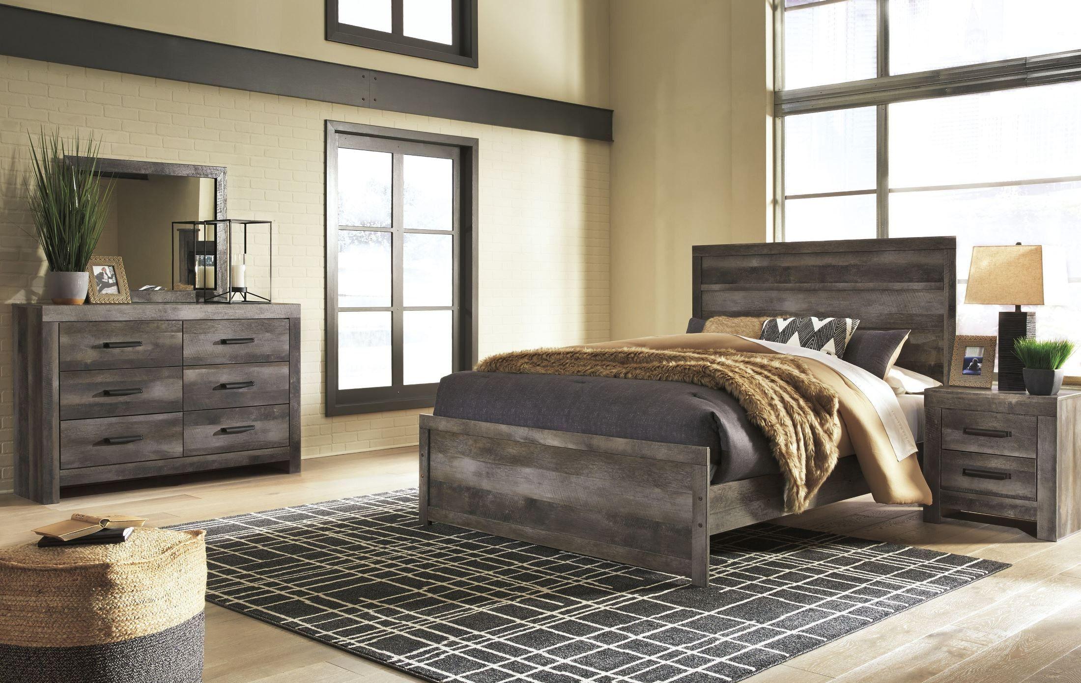 Wynnlow Brown Panel Bedroom Set in 2019 Panel bed