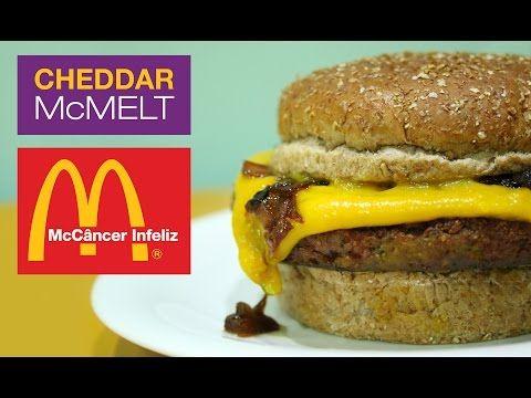 Como fazer o Cheddar McMelt do McCâncer Infeliz (vegan) #55 VegetariRANGO - YouTube
