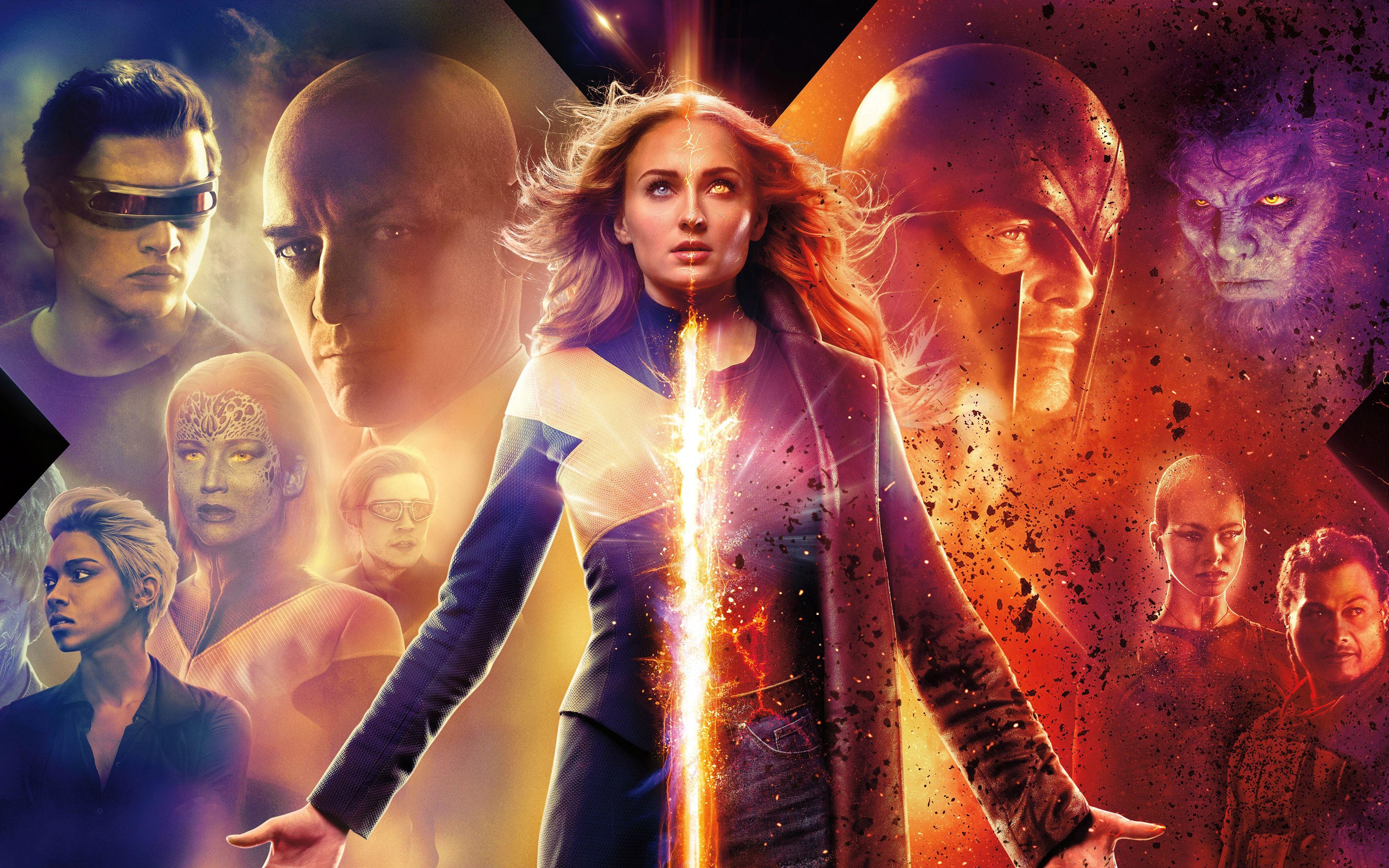 Dark Phoenix Movie Poster Hd Wallpaper 4k Free Download Dark Phoenix Full Movies Online Free Full Movies