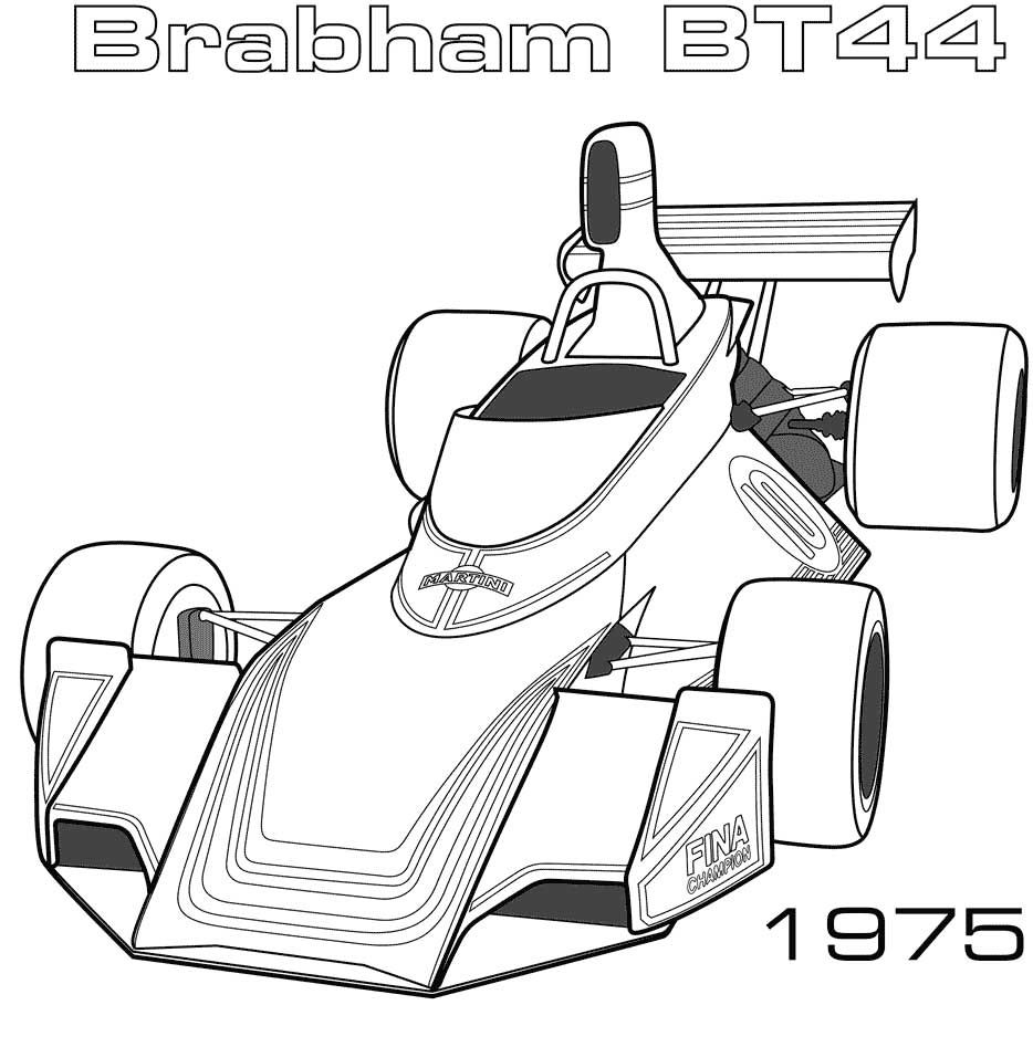 1975 Brabham BT44 coloring page Don`t to visit our