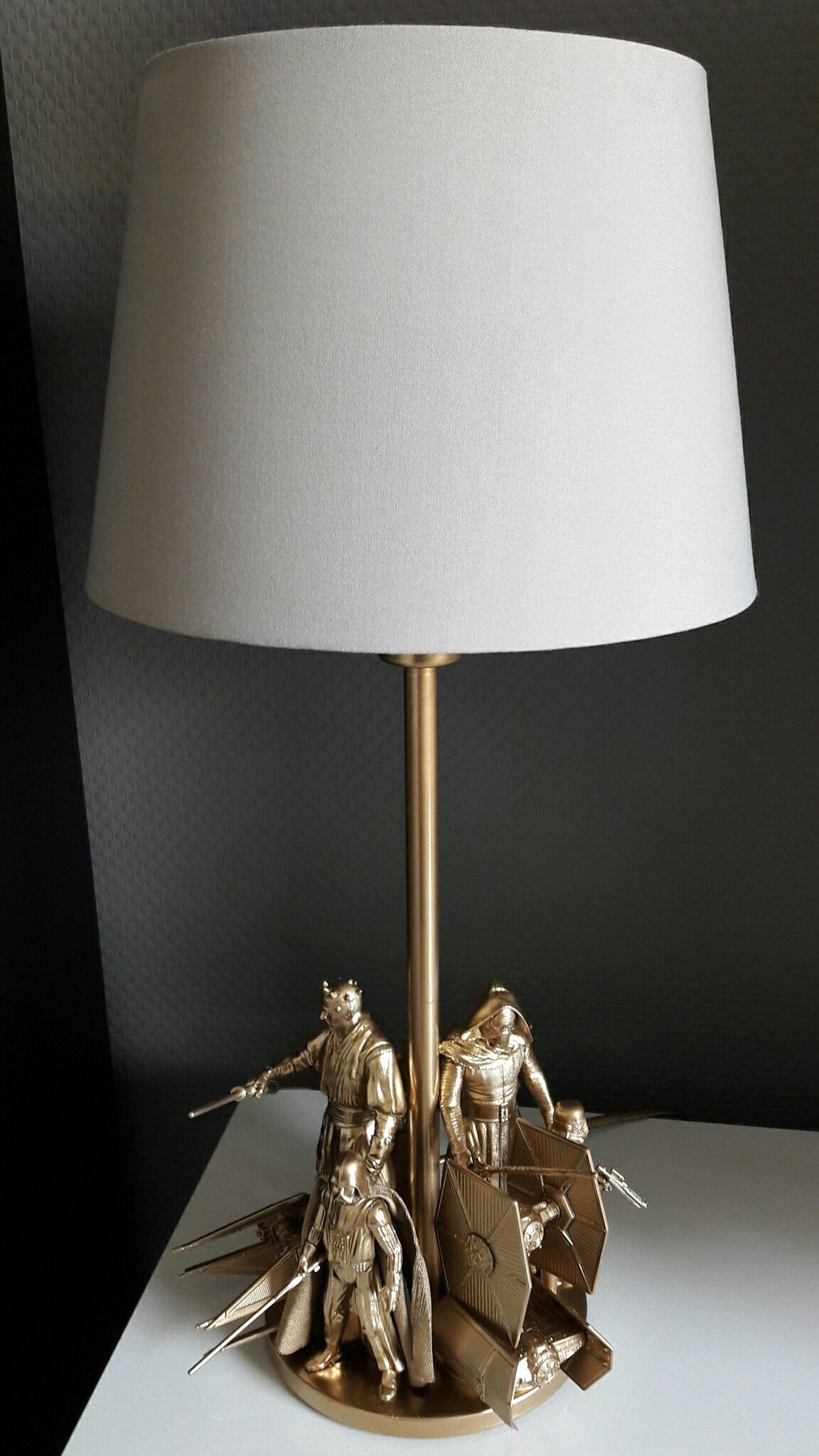 Star Wars Lamp Diy Ikea Hack Star Wars Lamp Star Wars Bedroom Decor Star Wars Bedroom