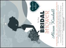 Bridal Invitation from TicketPrinting.com