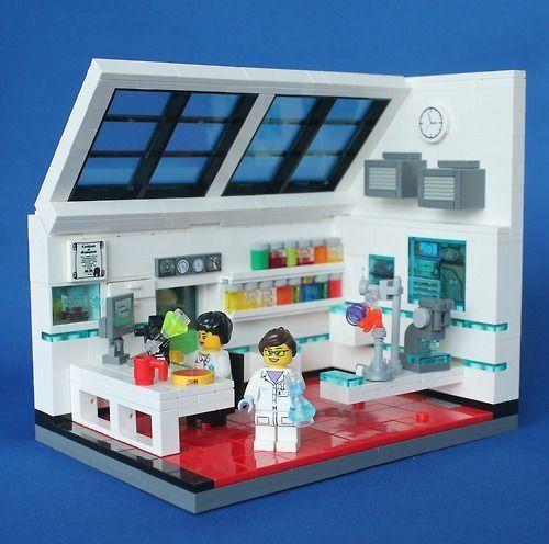 Lego Lab Lego Room Lego