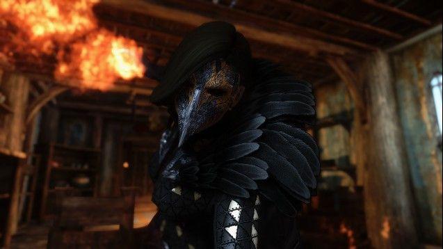 Steam Workshop Raven Witch Armor Skyrim Nexus Mods Skyrim Raven