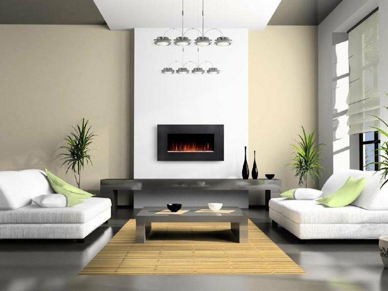 Designs von kleinen Häusern mit einer minimalistischen Dekoration ...