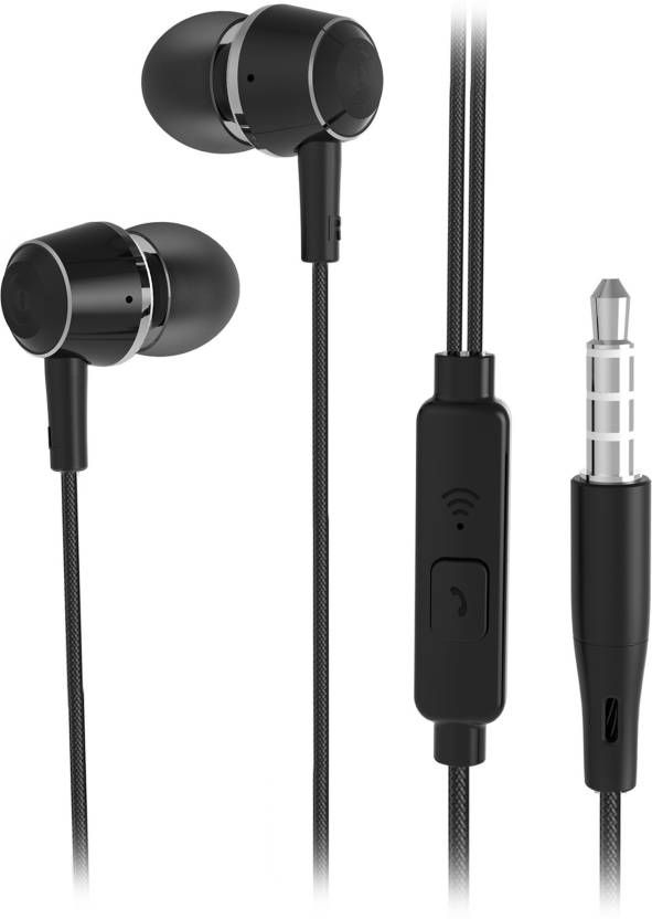 09f8676a125 Flipkart SmartBuy Wired Metal #Headset With Mic (Black) for Rs.599 ...