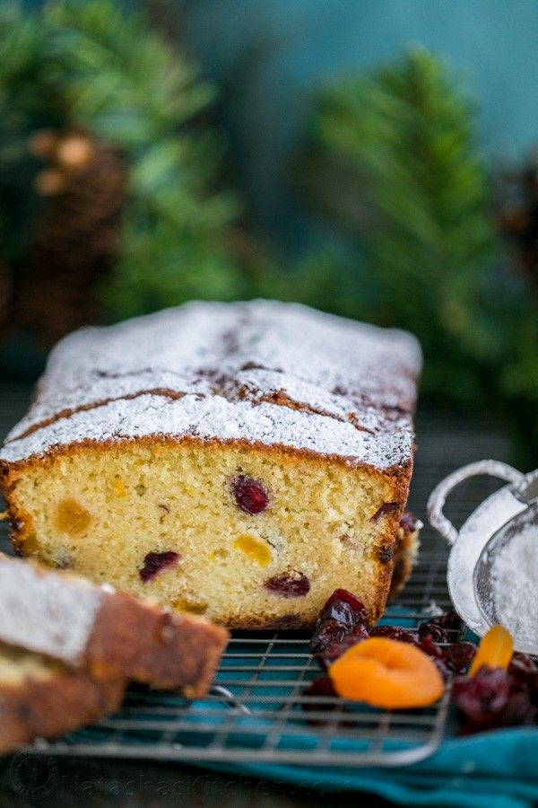 This sweet cranberry apricot loaf made our house smell ...