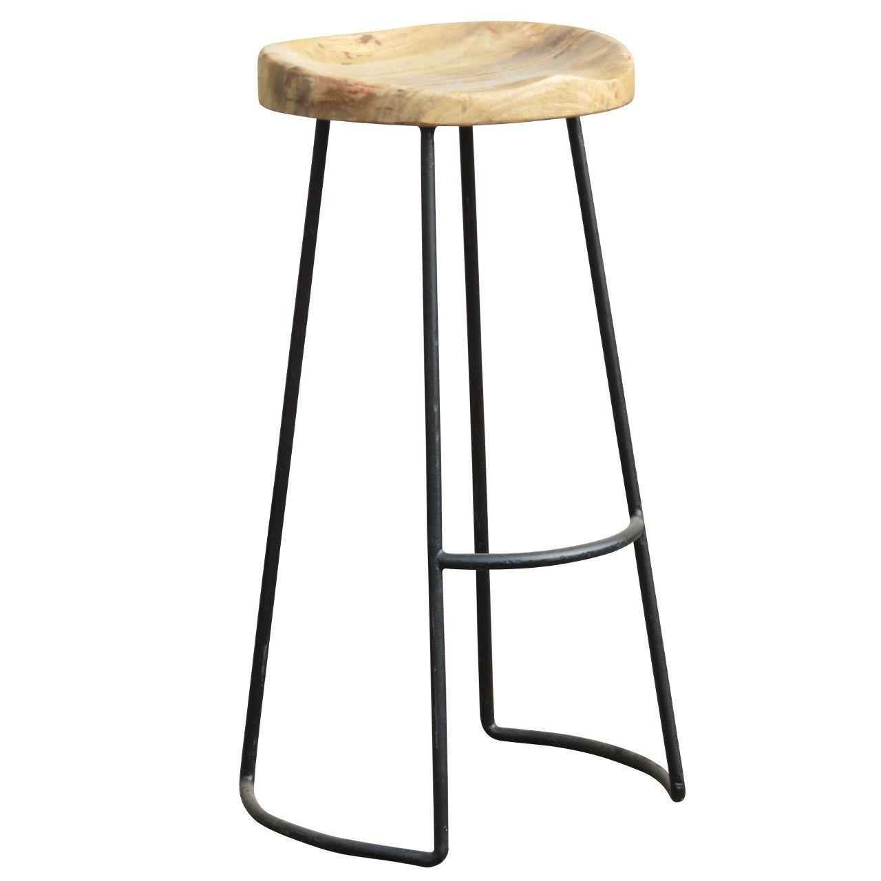 Curve Seat Barstool   The Industrial Range   Bar stools, Stool ...