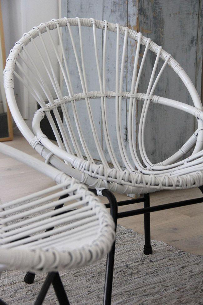 Épinglé par Lucy Davenport sur Plant   Chaise rotin ...