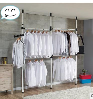 Home In 2020 Simple Closet Diy Clothes Wardrobe Garment Racks
