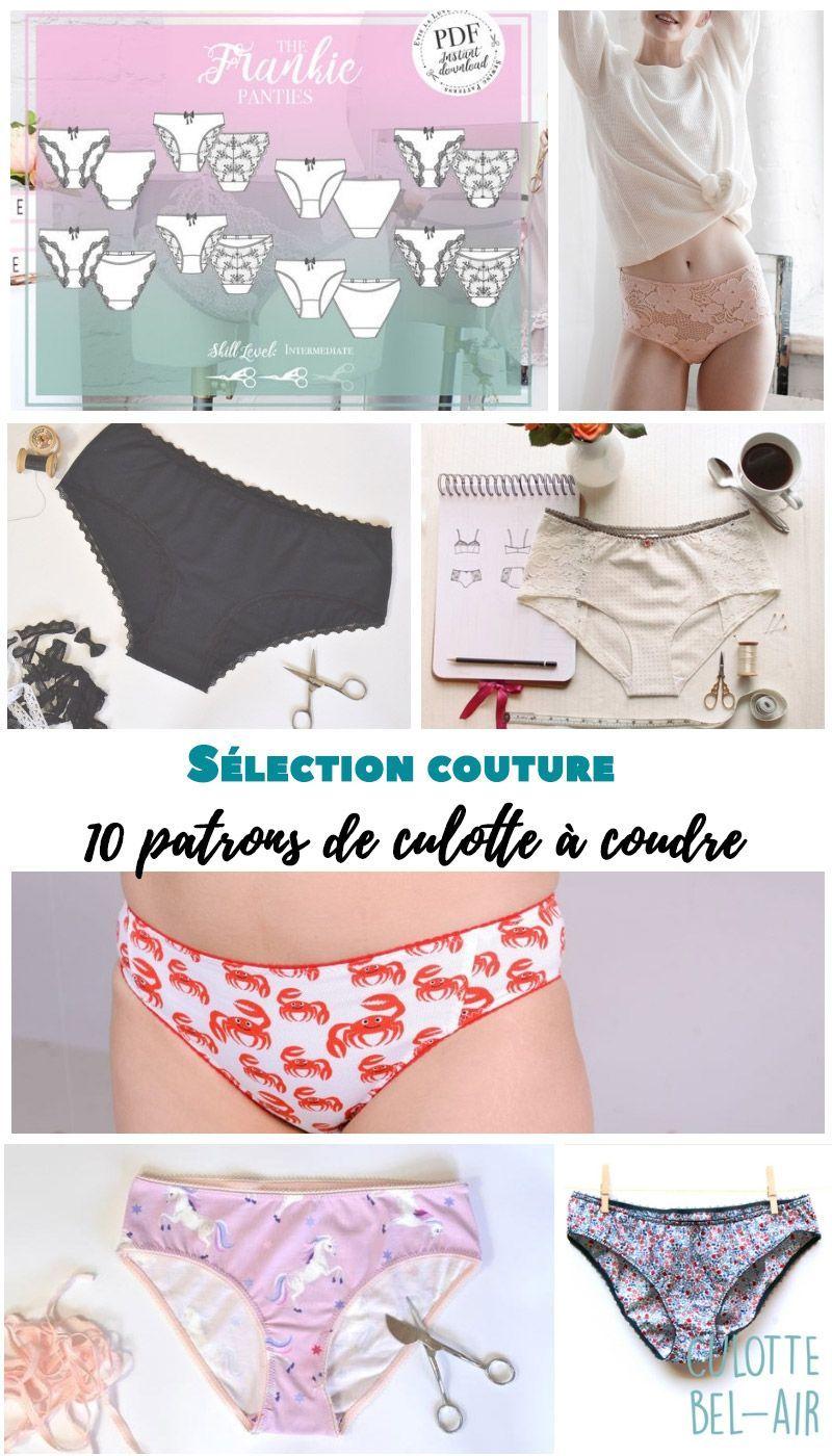 {Sélection couture} : 10 patrons de culotte à coudre - Avril sur un fil