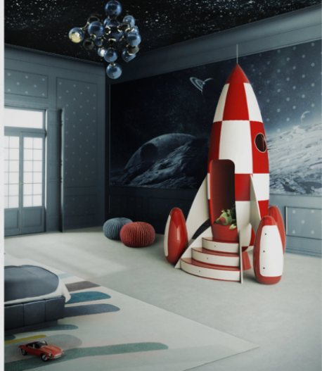 Chambre Enfant Star Wars Rencontre Objectif Lune Tintin