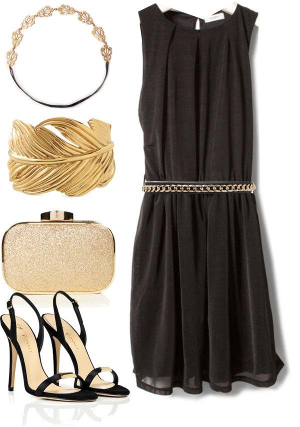 La versatilidad de un vestido negro. 1 vestido, 5 looks.