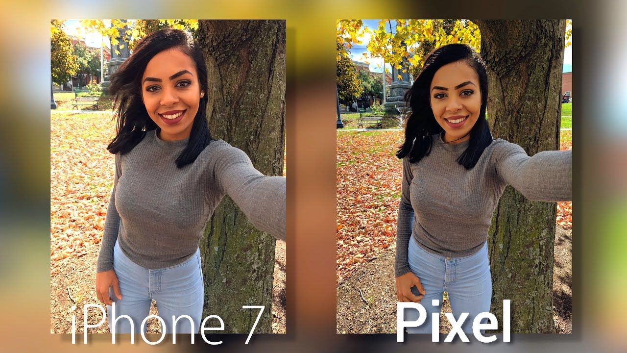Google pixel camera vs iphone 7 pixel camera phone