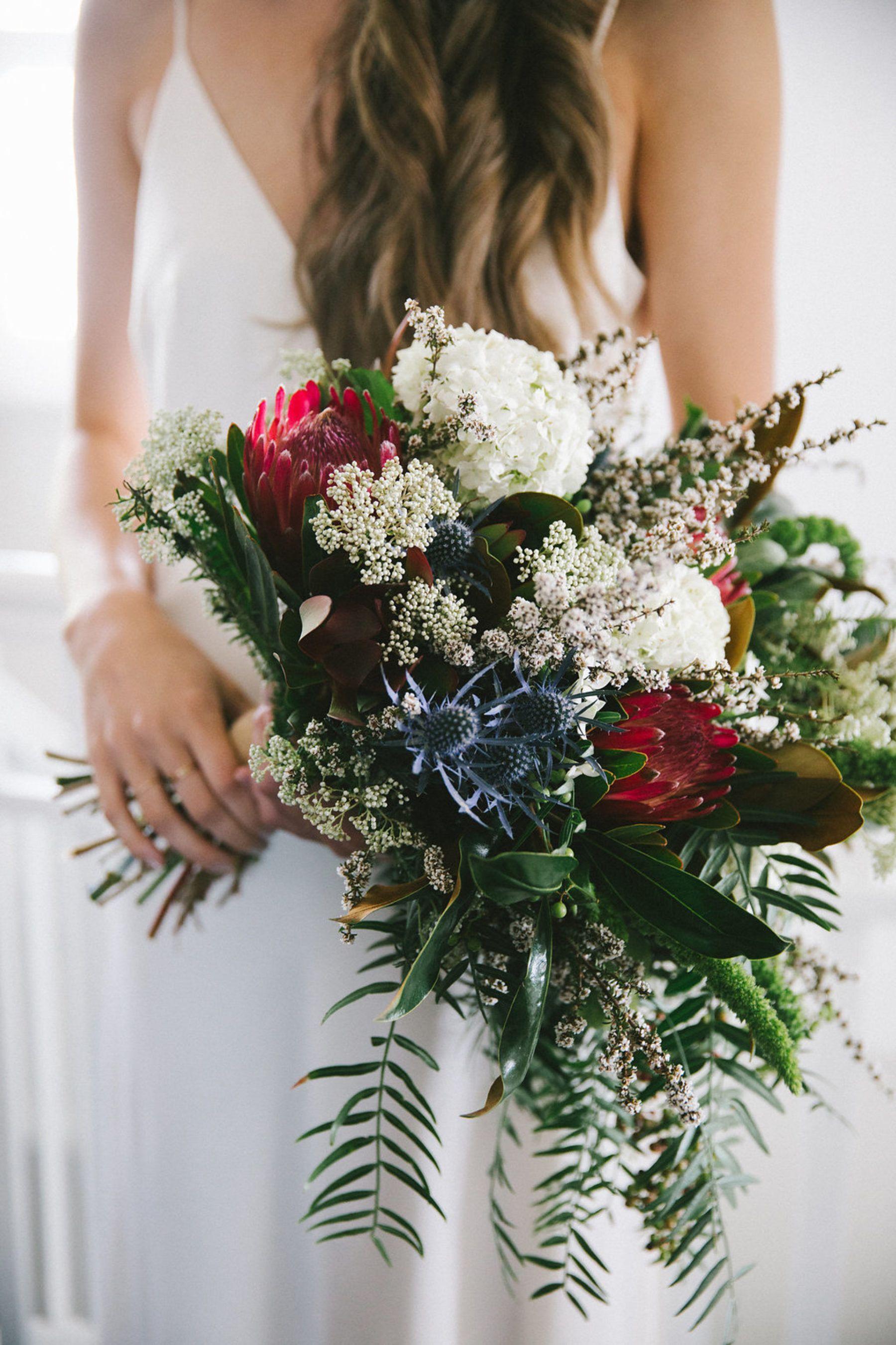 Monique & Benjamin's Modern DIY Wedding weddings
