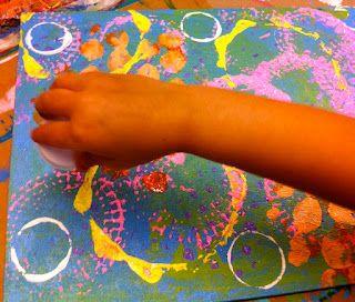 Sleepyhead Designs Studio: Five tips for Painting with preschoolers