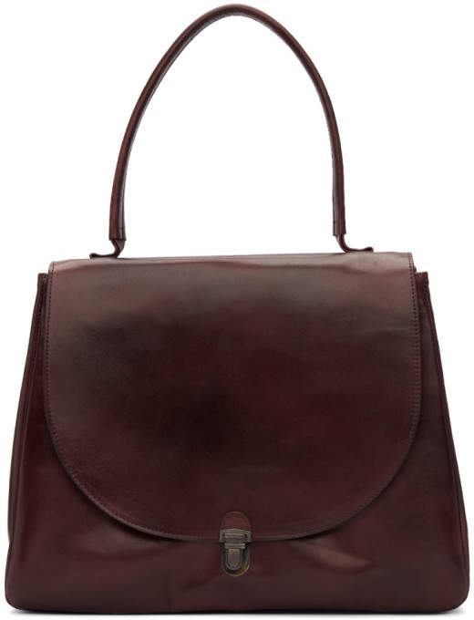 de7cab588887 Cherevichkiotvichki Burgundy Large Lock Bag   Products   Pinterest ...