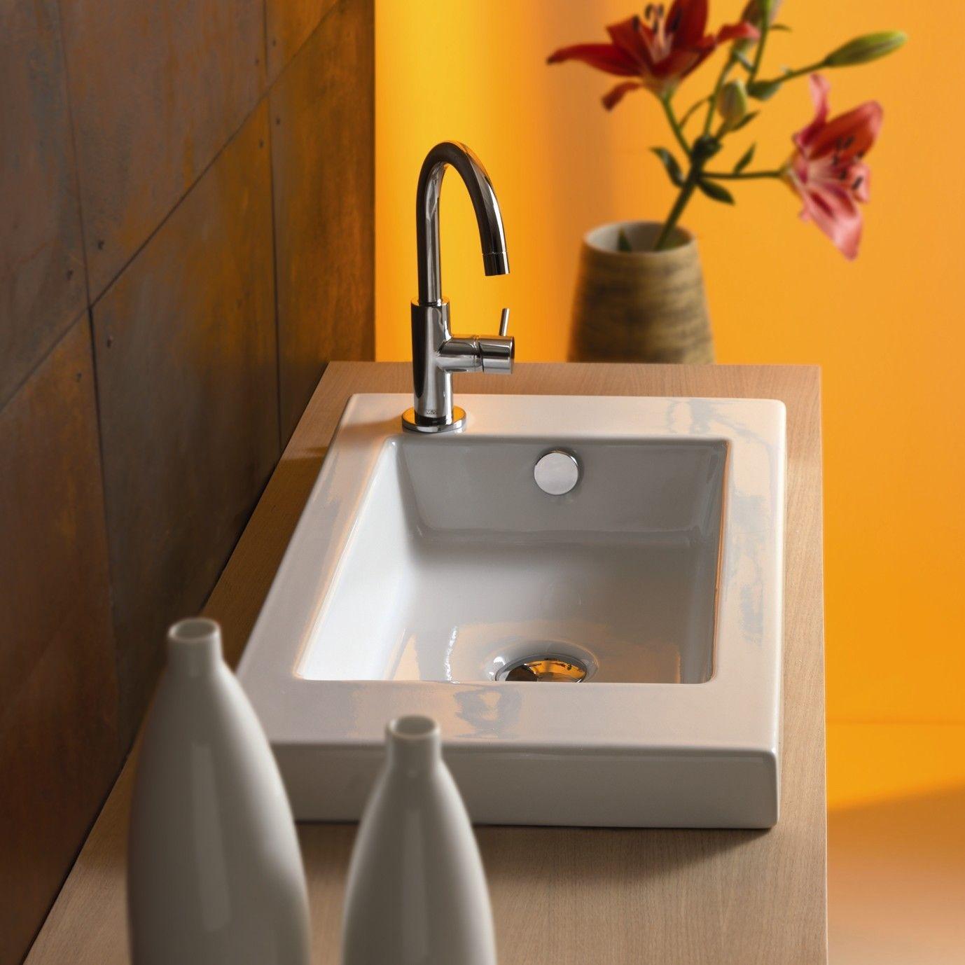 Ceramica Tecla Serie 35 Ceramic Bathroom Sink With Overflow Brilliant Wayfair Bathroom Sinks Decorating Inspiration