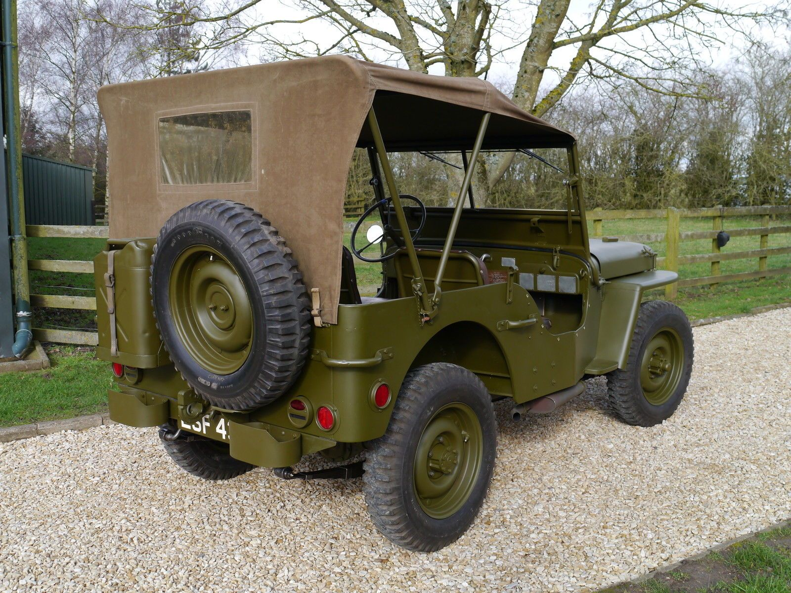Vwvortex Com Gen Eisenhower S Personal Jeep For Sale 750 000 Willys Jeep Willys Jeep Cars