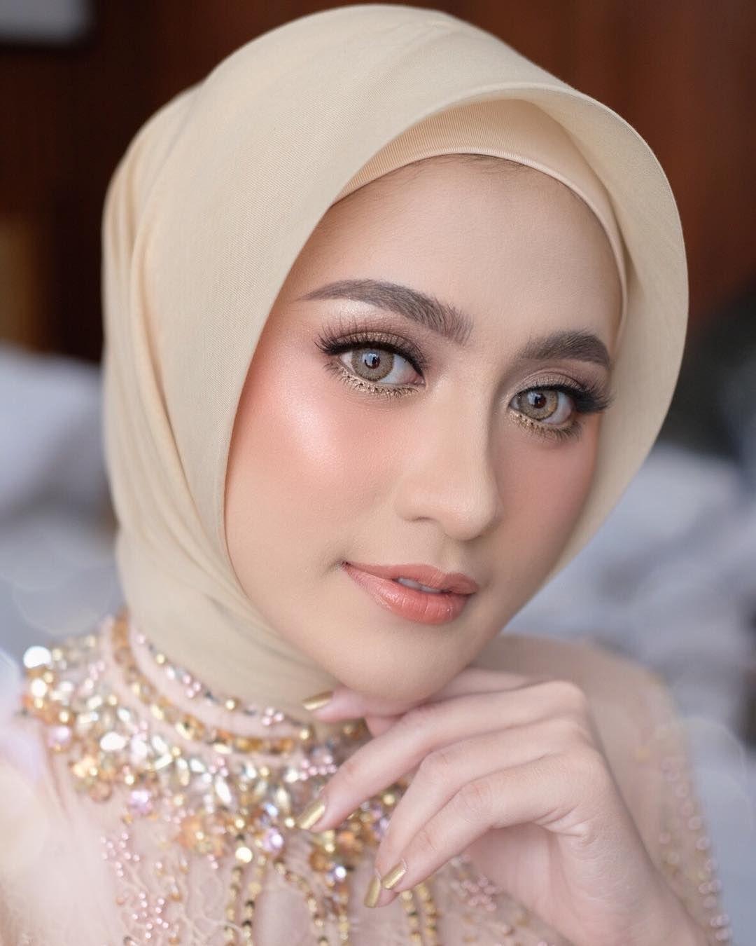 Natural Makeup Pengantin Simple Hijab Makeup Wedding Makeup Fashion Makeup