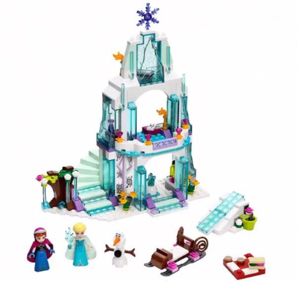 le palais de glace scintillant de la reine des neiges lego 41062