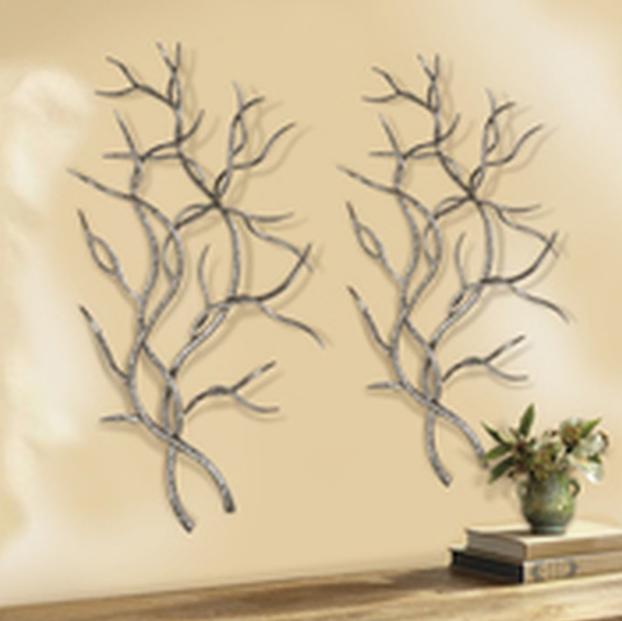 Branches Metal Wall Art Bradpike Com Tree Branch Tree Branch Wall Art Tree Wall Art Diy Metal Tree Wall Art