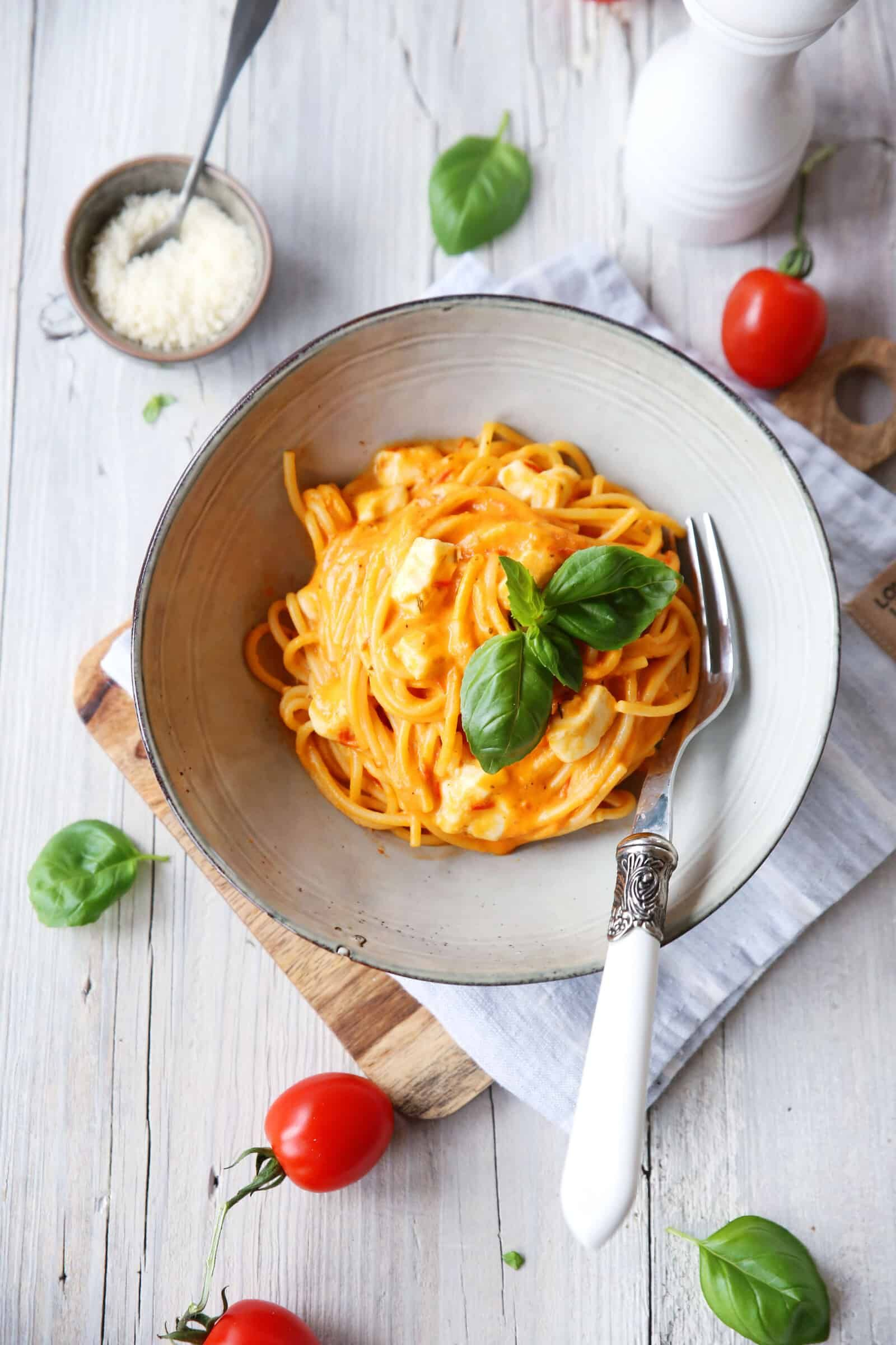 Photo of Spaghetti Tomate-Mozzarella – Rezept für den Thermomix®