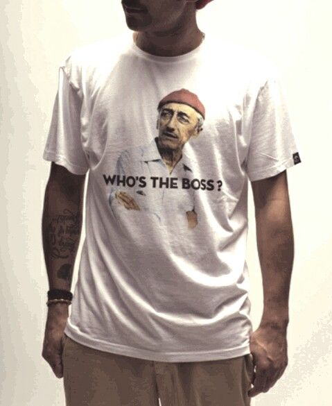 WHO'S THE BOSS ? #COUSTEAU NEED THIS T-SHIRT