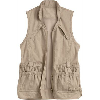 Women's Lightweight Utility Gardening Vest - great pockets! Available in a variety of colors.