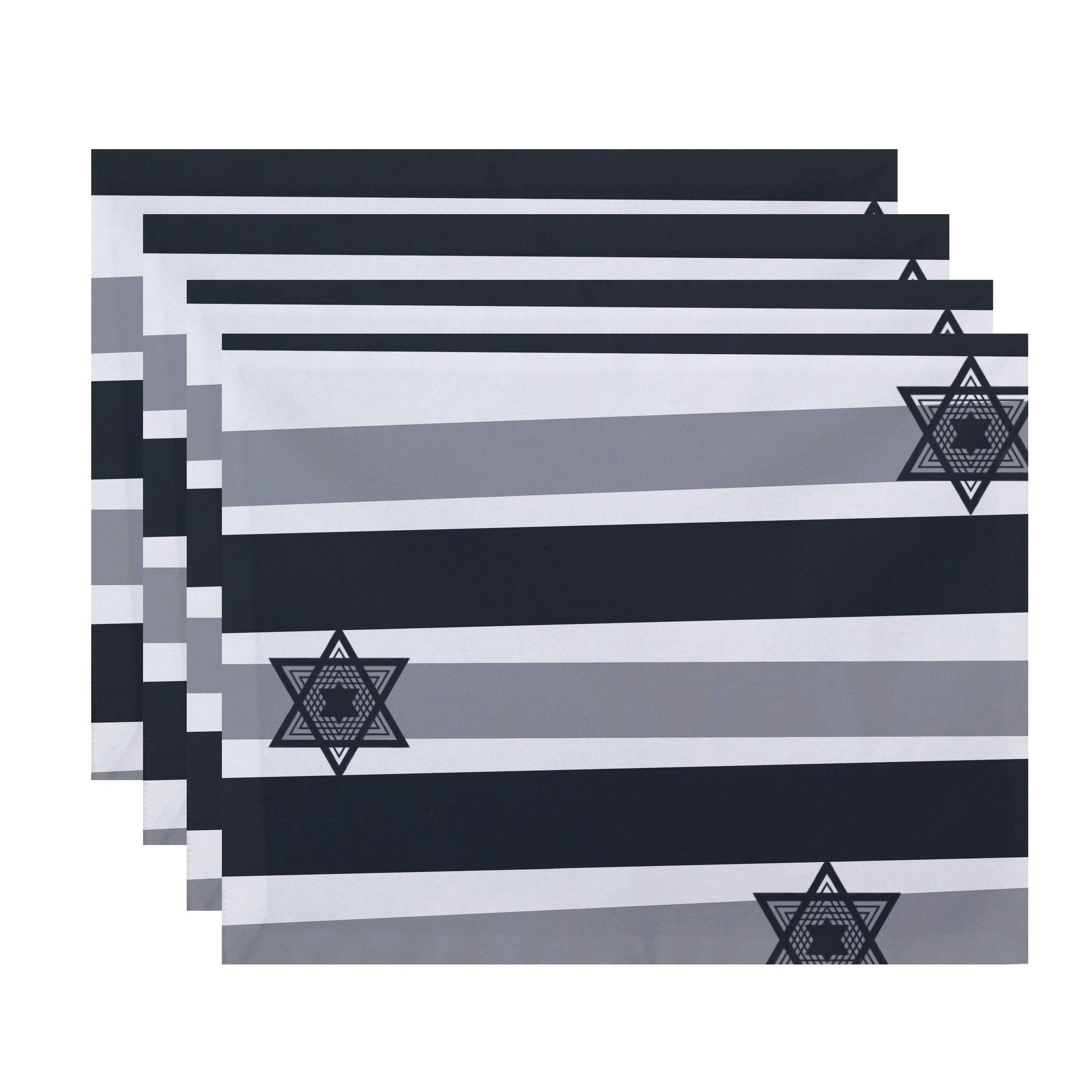 Star Stripes Stripe Print Placemat