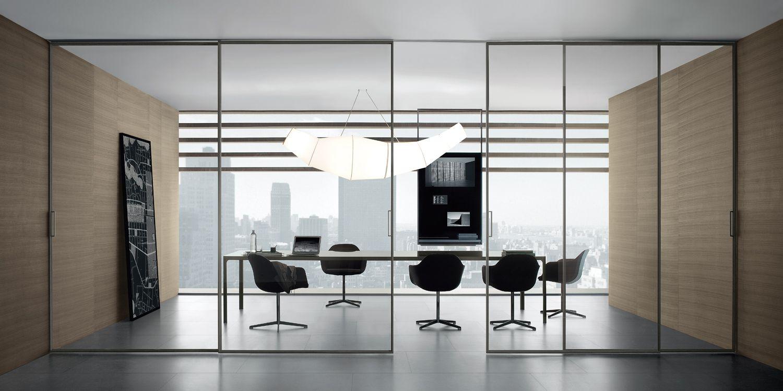 Porte scorrevoli per interni : Rimadesio velaria porte scorrevoli per interni in vetro e
